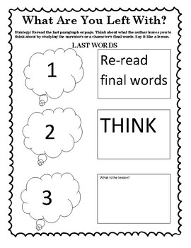 The Reading Strategies Book 7.6 What Are You Left With?
