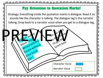 The Reading Strategies Book Goal 4.10 Inside and Outside Quotes