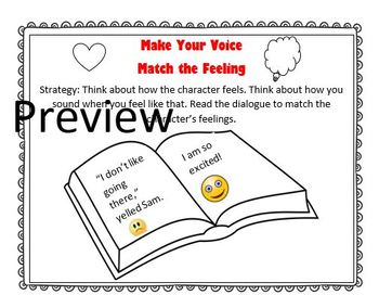 The Reading Strategies Book Goal 4.11 Make Your Voice Match the Feeling