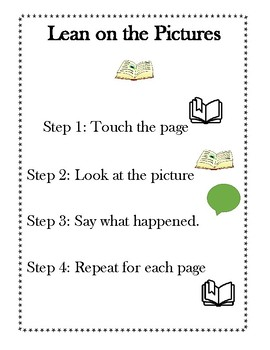 The Reading Strategies Book Goal 5.1 Lean on Picture