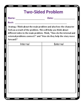 The Reading Strategies Book Goal:5.17 Two-Sided Problems