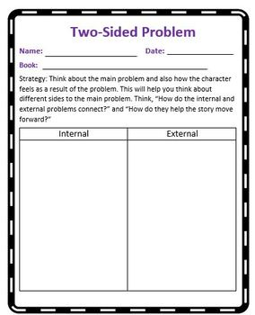 The Reading Strategies Book Goal 5.17 Two-sided problem