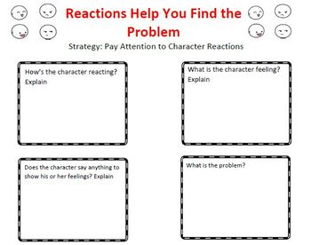 The Reading Strategies Book Goal 5.6 Reactions Help Find the Problem