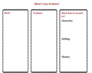 The Reading Strategies Book Goal 5.8 What's Your Problem