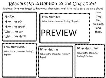The Reading Strategies Book Goal 6.1 How's the Character Feeling?