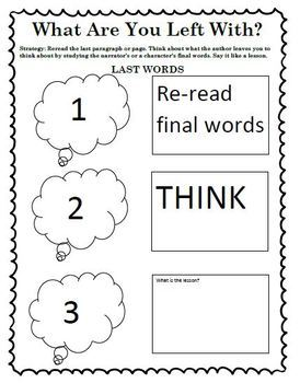 The Reading Strategies Book Goal 7 Theme
