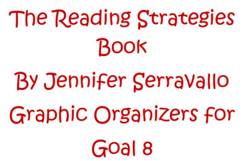 The Reading Strategies Book Goal 8 Main Idea/Detail Graphic Organizers