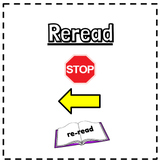 The Reading Strategies Book Lesson 2.3 Anchor Chart & Goal Post-It