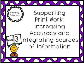 """""""The Reading Strategies""""-Goal Posters"""