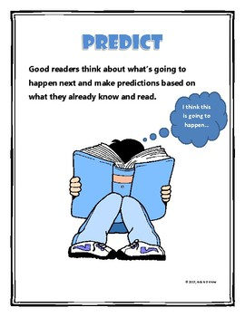 The Reading Strategies Poster Set