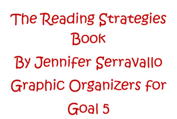 The Reading Strategy Books Goal 5 Supporting Comprehension in Fiction