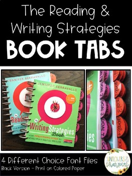 The Reading & Writing Strategies Book Tabs