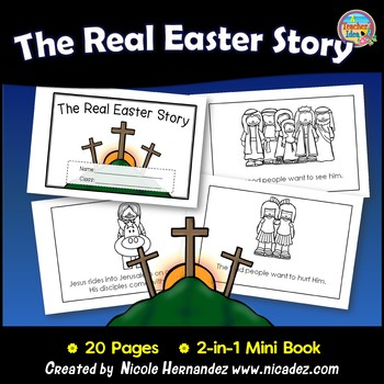 The Real Easter Story Mini Book