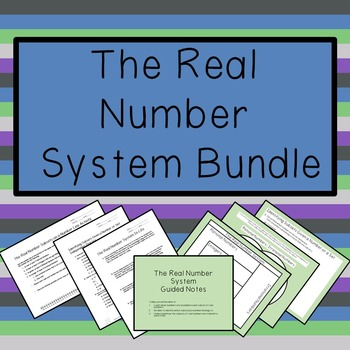 The Real Number System Bundle