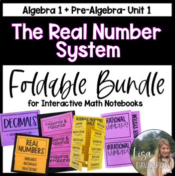 The Real Number System (Foldable Bundle)