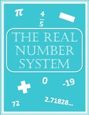 The Real Number System Graphic Organizer