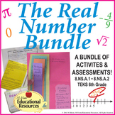 Real Number System - Complete BUNDLE - Activities, Printab
