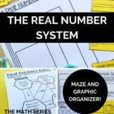 The Real Number System Activities (maze & sort)