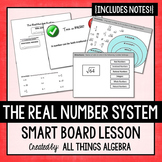 Real Number System Interactive Smart Notebook Lesson