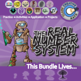 The Real Number System -- Pre-Algebra Curriculum -- Essential Unit Bundle