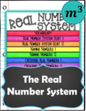 The Real Number System_DIGITAL NOTES & 2 QUIZZES  (Distanc