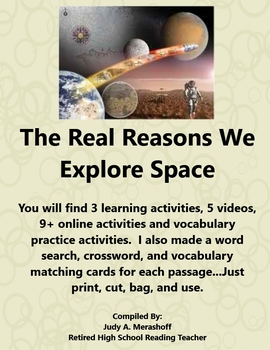 The Real Reasons We Explore Space