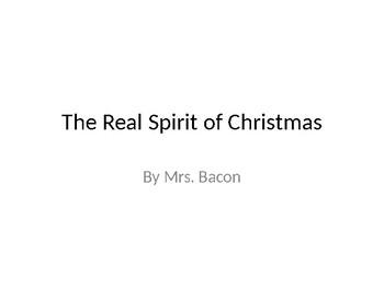 The Real Spirit of Christmas