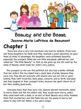 Beauty and the Beast / ELA Practice