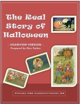 The Real Story of Halloween - Video Quiz Worksheet - EXAMV