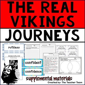 The Real Vikings Journeys 6th Grade Unit 4 Lesson 16 Activities and Printables