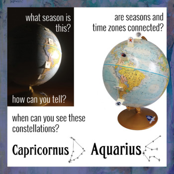 What Causes Seasons? Two activities to simulate Earth's yearly orbit and tilt