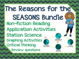 The Reasons for the Seasons BUNDLE: nonfiction, stations, graphing, and MORE!