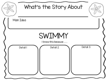 Swimmy ~  36 pgs. Common Core Activities