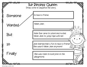 The Recess Queen Book Companion