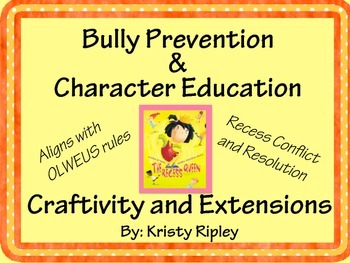 The Recess Queen Character Education Craftivity