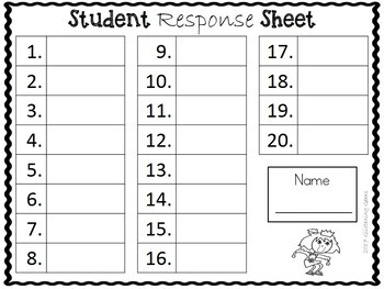 The Recess Queen Character Trait Task Cards