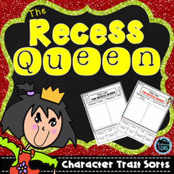The Recess Queen Character Traits Sorting