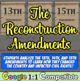 Reconstruction Amendments: The 13th, 14th, 15th and the Southern Response!
