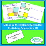 Algebra 1 - Setting up the Rectangle Method  for Multiplyi
