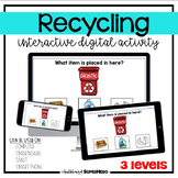 The Recycling interactive digital activity