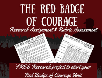 The Red Badge of Courage - A Research Project