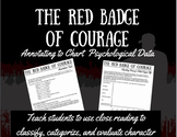 The Red Badge of Courage Annotating Task - Charting Psycho