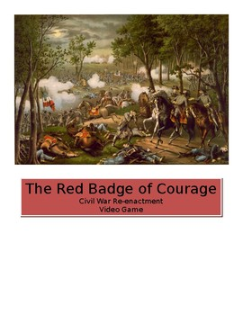 The Red Badge of Courage, Civil War Re-Enactment as Video Game