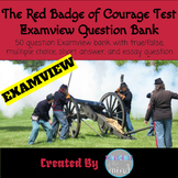 The Red Badge of Courage Examview Question Bank