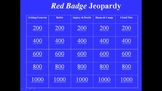 The Red Badge of Courage Review Game and Test