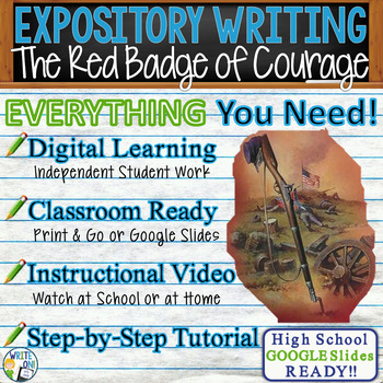 The Red Badge of Courage - Text Dependent Analysis Expository Writing