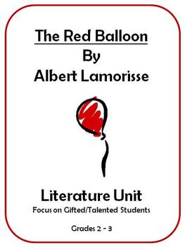 The Red Balloon By Albert Lamorisse -  Literature Unit