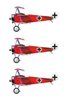 The Red Baron Word Search
