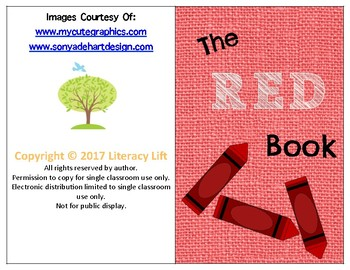 The Red Book - Guided Reading Level aa / A