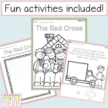 The Red Cross - Educate Students with Class Books, Writing Prompts & More!